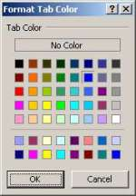 Tab Color