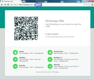 Scan Code di web